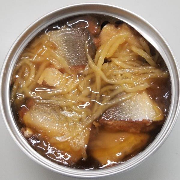 四万十の鮎と生姜の甘辛煮