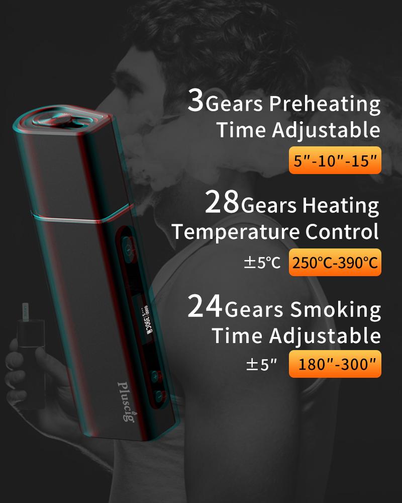 Pluscig S9/プラスシグ/アイコス 互換機/加熱式タバコ/本体 IQOS互換機 iqos互換機 電子タバコ デバイス  [E-23]