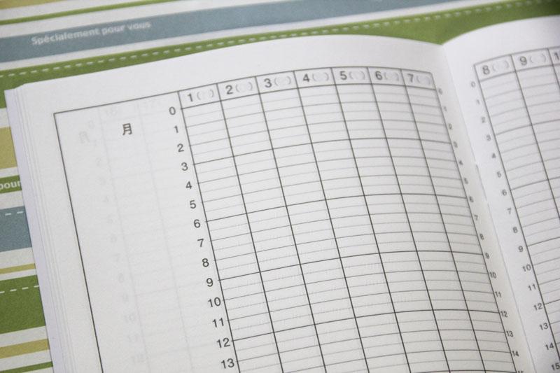 時間管理ノート