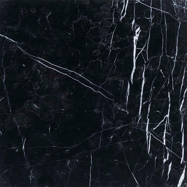 ひんやりマット大理石 ネロクラウン 400×400×13