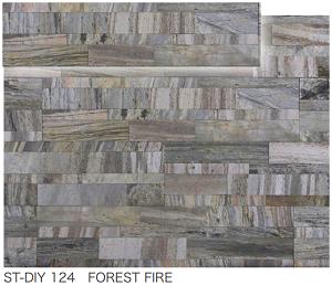 ストーンベニアDIY ST-DIY 124      FOREST FIRE