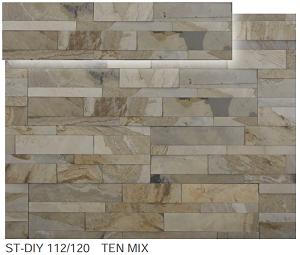 ストーンベニアDIY ST-DIY 112/120      TEN MIX