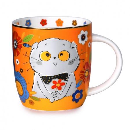 Basik バーシックのマスコット付きマグカップ