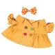 【公式限定】着せ替え Li-li オレンジのレインコート