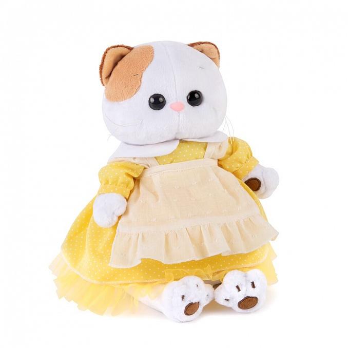 Li-li 黄色のワンピース  可愛いねこちゃんです お祝い プレゼントに♪