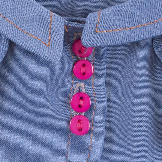 【公式限定】着せ替え ミイ ジーンズジャケットとネットスカート