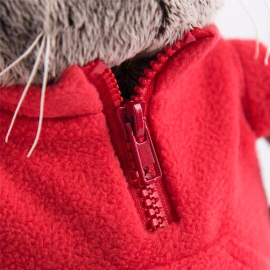 Basik  イエローフィッシュのフリースジャケット ハンドメイドの猫ちゃんです ギフト♪プレゼントに♪