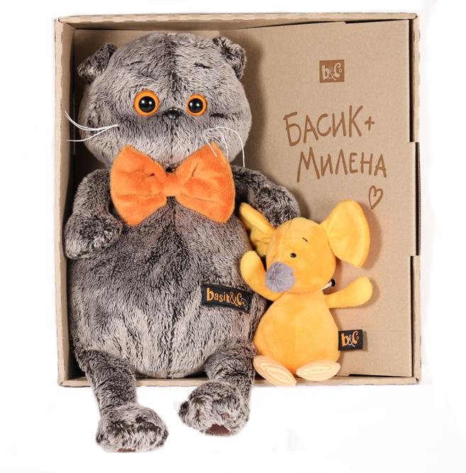 Basik with ネズミのミレナちゃん 可愛いねこちゃんです お祝いやプレゼントに♪