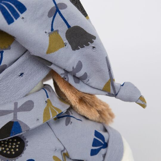 バルトロメイ お花柄のブルーパジャマ