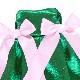 【公式限定】着せ替え エメラルドグリーンのリボン付きドレス