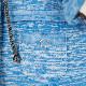 バルトロメイ 水色のフードジャケット