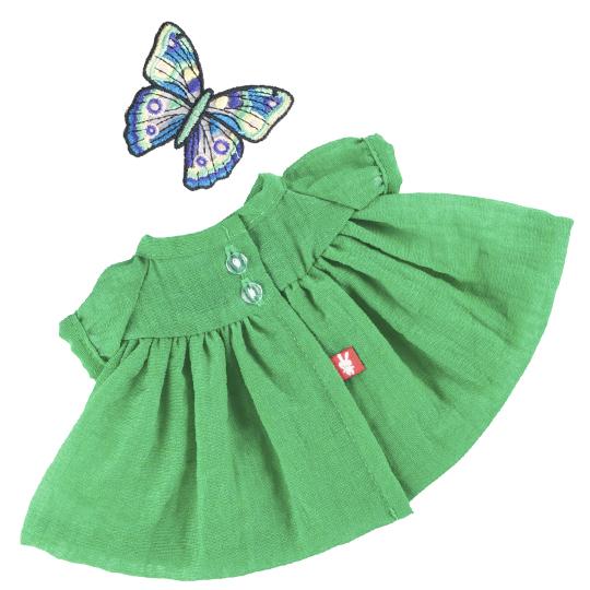 【公式限定】着せ替え ミイ 緑のドレスwith蝶々