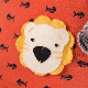 Basik お魚柄のオレンジTシャツ 可愛いねこちゃんです お祝い プレゼントに♪