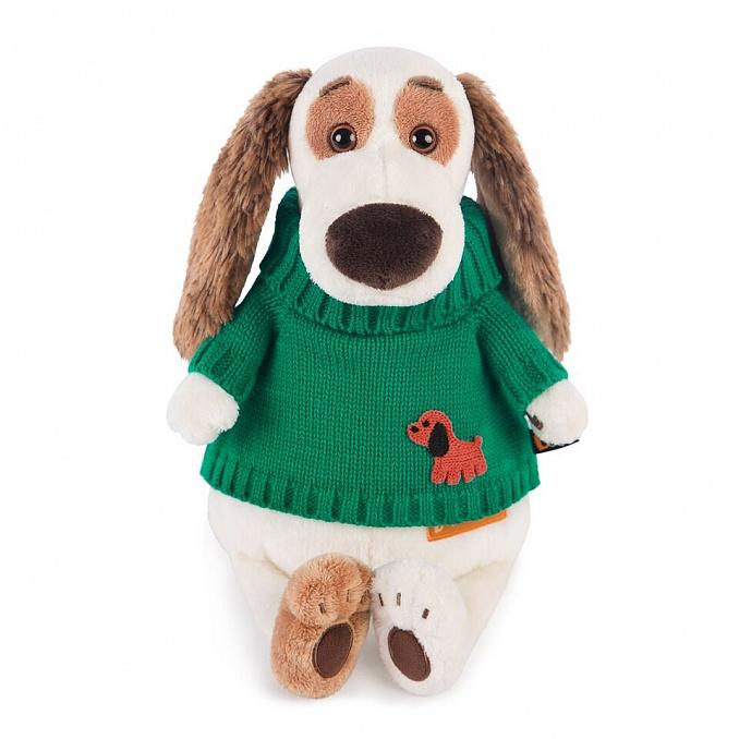 バルトロメイ 緑のセーター with 子犬のワッペン