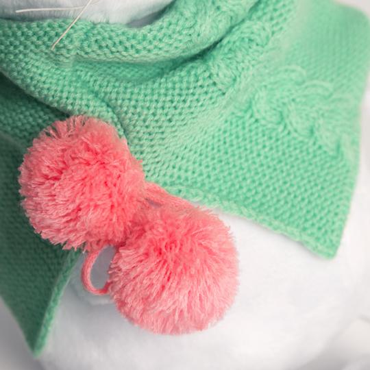 【公式限定】着せ替え LI-li with ターコイルカラーのふわふわマフラーのお洋服