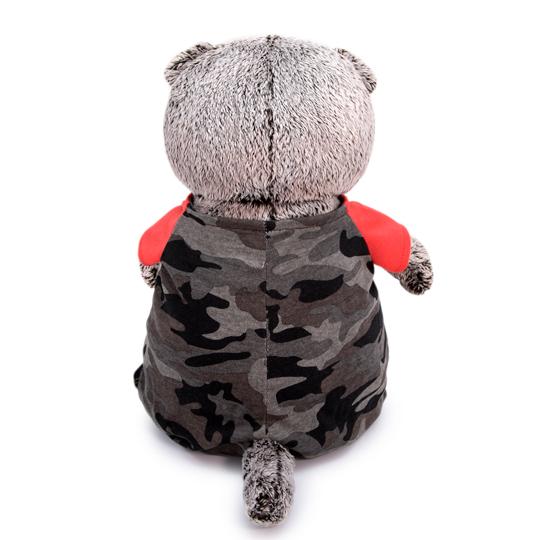 Basik 迷彩柄のコンビニゾン ハンドメイドの猫ちゃんです ギフト♪プレゼントに♪