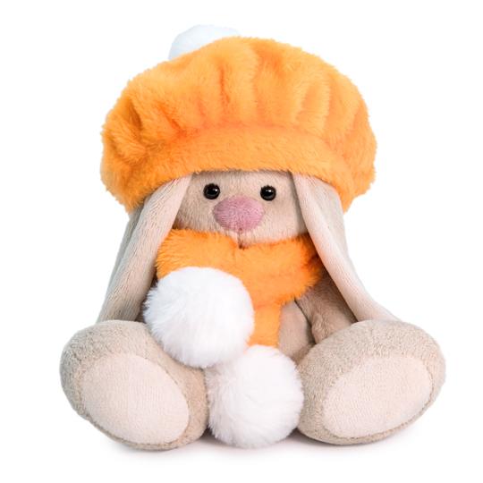 MI BABY みかん色のベレー帽