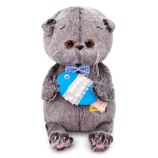 Basik Baby with おさかな ハンドメイドの猫ちゃんです ギフト♪プレゼントに♪