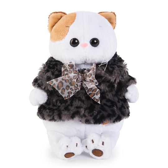 Li-li  ロシアン豹柄シューバ  可愛い猫ちゃんのぬいぐるみです♪