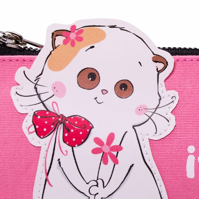 Lili  ピンクのペンケース