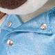 バルトロメイ ブルーのレザージャケット