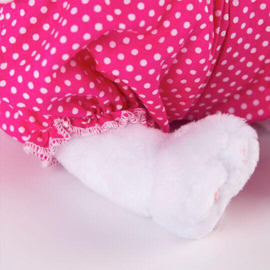 Li-li Baby 水玉ワンピース 可愛いねこちゃんです お祝いやプレゼントに♪