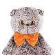 Basik with オレンジの蝶ネクタイ ハンドメイドの猫ちゃんです ギフト♪プレゼントに♪
