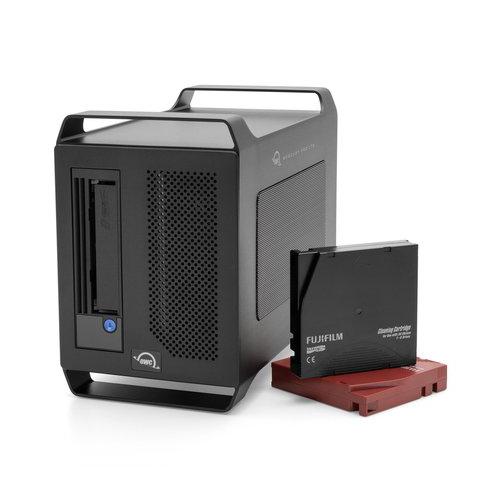 【国内正規品】 OWC Mercury Pro LTO (OWC マーキュリー プロ LTO)Thunderbolt 3 / LTO-8 / アーカイブソリューション (2TB SSD + LTO-8テープ)