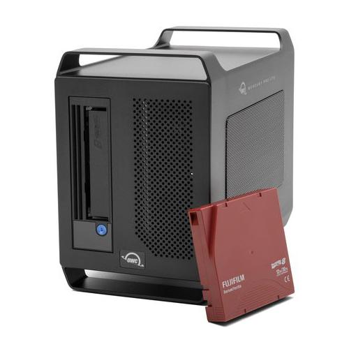 【国内正規品】 OWC Mercury Pro LTO (OWC マーキュリー プロ LTO)Thunderbolt 3 / LTO-8 / アーカイブソリューション (4TB SSD + LTO-8テープ)