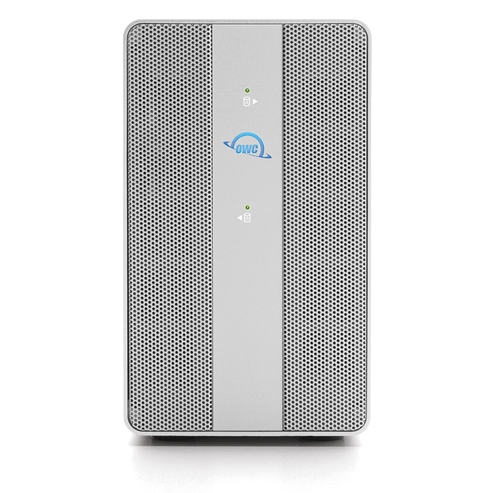 【国内正規品】 OWC Mercury Elite Pro Dual with 3-Port Hub (OWC マーキュリー エリート プロ デュアル with 3ポート ハブ) デュアルドライブベイ / USB3ポートハブ / ハードウェアRAID (HDD 16TB)