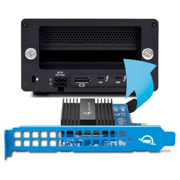 【国内正規品】 OWC Accelsior 1M2 (OWC アクセルシオール 1M2) M.2 SSD to PCIe 4.0 アダプターカード (240GB)