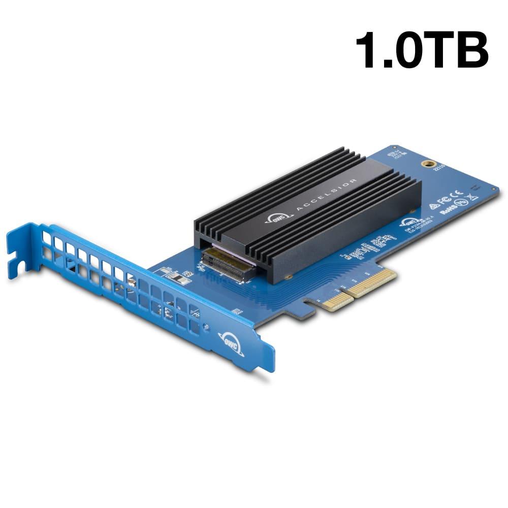 【国内正規品】 OWC Accelsior 1M2 (OWC アクセルシオール 1M2) M.2 SSD to PCIe 4.0 アダプターカード (1.0TB)