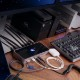 【国内正規品】 OWC THUNDERBOLT DOCK (OWC サンダーボルト ドック)独立型デイジーチェーン×3 / Thunderbolt 4 ×4 / USB-A ×4 / SDカードスロット / イヤホンジャック / ギガビット・イーサネット / 4K-8K接続 / 96W給電