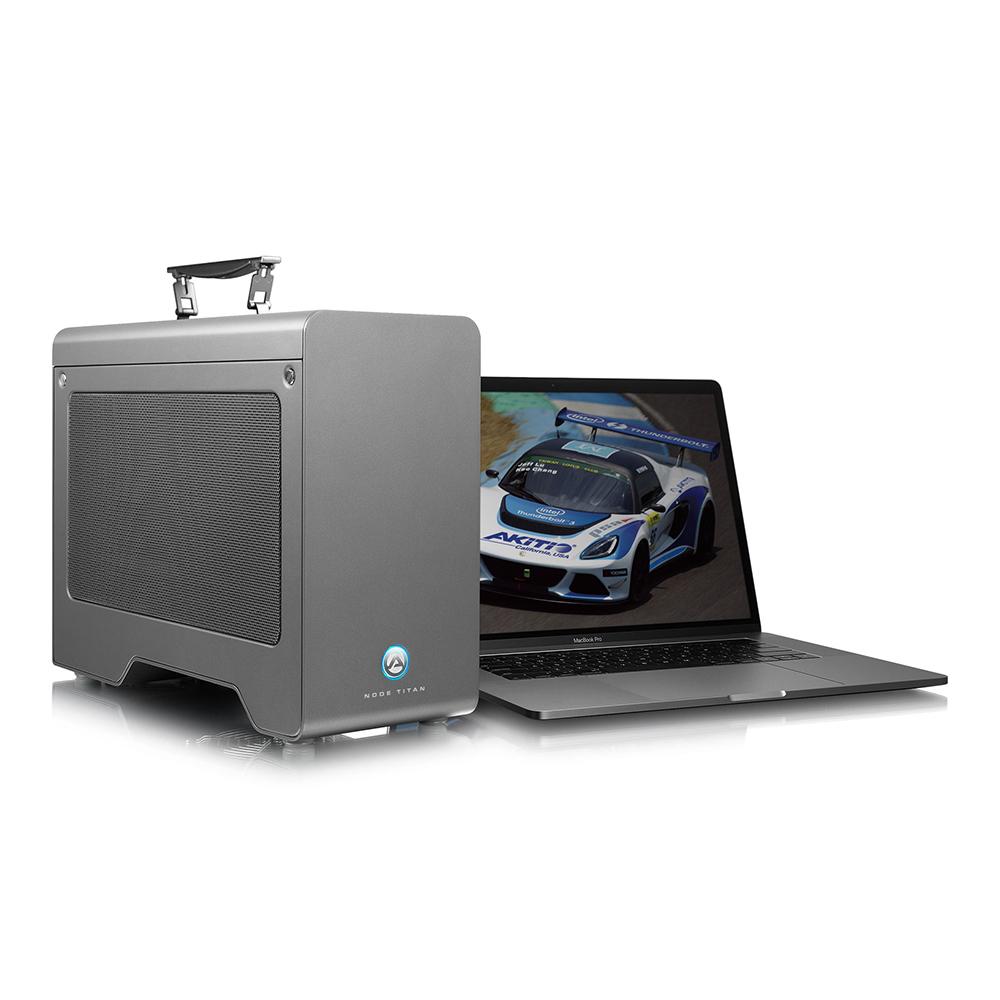 【国内正規品】 AKiTiO Node Titan / 650W電源 / Thunderbolt 3 接続 / eGPU 拡張Box / フルレングス フルハイト ダブル幅 PCIeカード