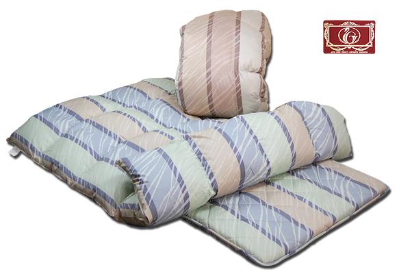 日本製・羽毛羊毛2点セット フランス産WDD90% #ソーホー  /シングル