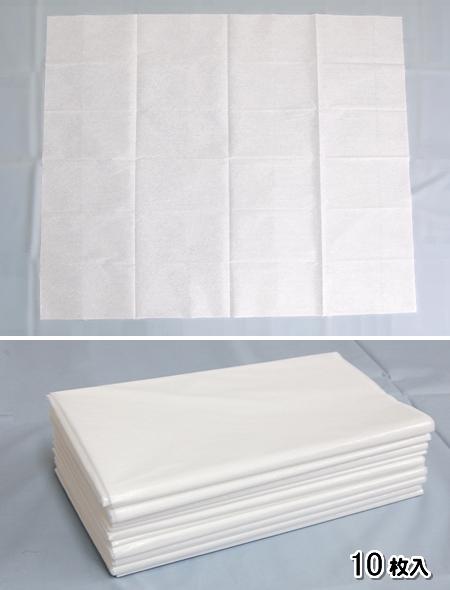 使い捨てシーツ・防水ディスポシーツ(10枚入) /100× 90cm