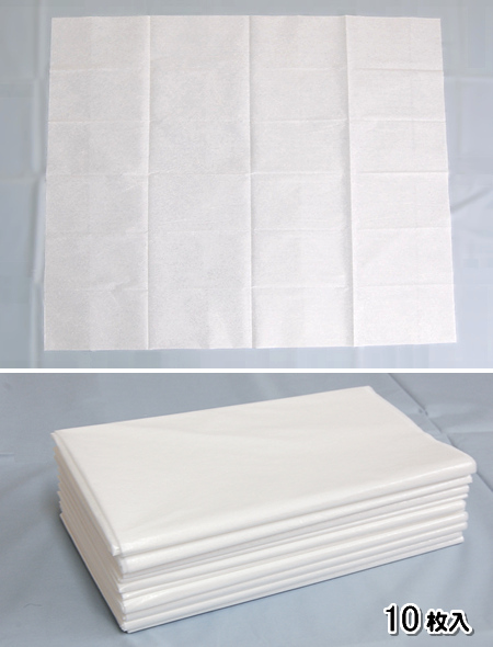 使い捨てシーツ・防水ディスポシーツ(10枚入) /100×120cm