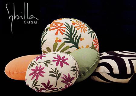 Sybilla(シビラ)●ラウンドクッションカバーR45cm