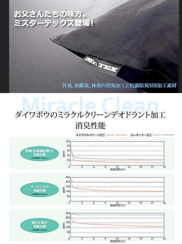 Mr.TEX ミスターテックス消臭カバー ・ピロケース/43×63cm