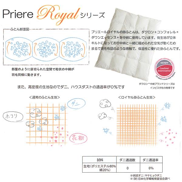 Priere Soleil Royal (プリエール ソレイユ〈ロイヤル〉) ベビーふとん9点セット