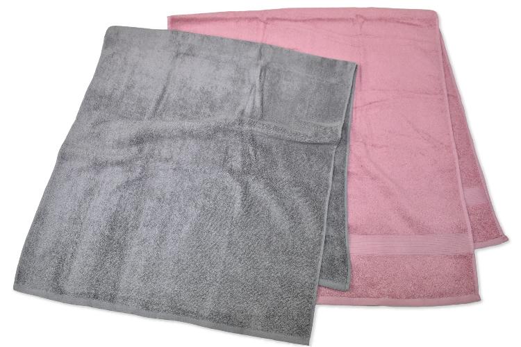 コーマ糸カラー無地大判バスタオル 70×140cm