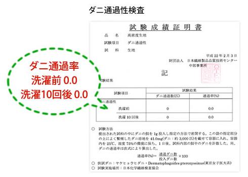 *高密度防ダニカバー* (無地) ・ピロケース/35×50cm