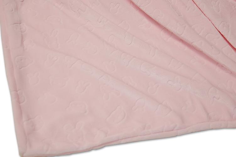 あったか掛ふとんカバー やわらかくとろけるような肌ごこち #どうぶつ柄ピンク /ダブルサイズDL