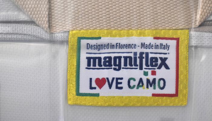 magniflexマニフレックス「ピクセルカモウィング」 PixelCamoWing 三つ折りマットレス/ダブルサイズ