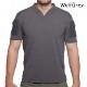 VelocitySystems ベロシティシステムズ BOSS Rugby shirt 吸汗、速乾 ミリタリー半袖シャツ