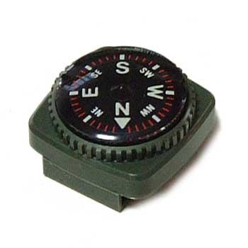 防水型リストコンパス 腕時計ベルト通しタイプ
