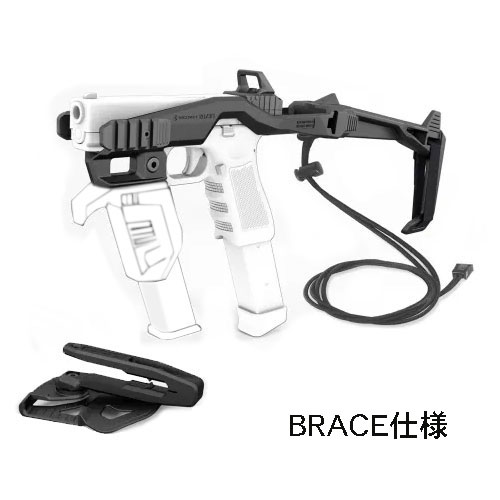 RECOVER TACTICAL 20/20NH-BR Stabilizer Kit スタビライザーキット BRACE仕様  Glock Gen1-5 (Glock26含)