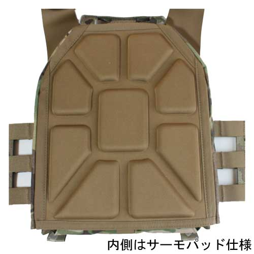 WARRIOR ASSAULT SYSTEMS  LOW PROFILE CARRIER V2 LPCプレートキャリア M スピードクリップ付き
