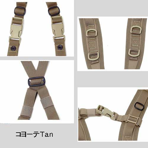 WARRIOR ASSAULT SYSTEMS Elite Ops Low Profile Harness ロープロファイル ハーネス