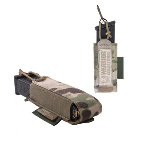 WARRIOR ASSAULT SYSTEMS ウォーリア レーザーカット シングルバンジーピストルポーチ W-LC-SBPP